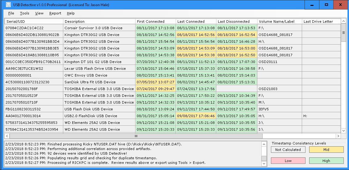 Introducing USB Detective - Digital Forensics Stream
